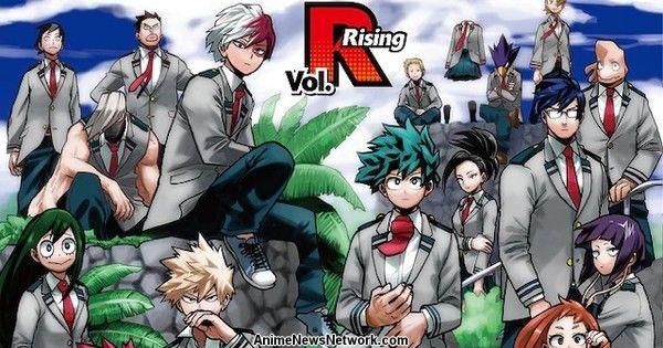 Viz Media Publishes My Hero Academia Heroes Rising Manga Chapter In English News Anime News Network