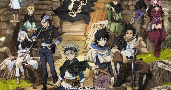 Anime Spotlight Black Clover Anime News Network Sedikitnya scene ini mengobati rindu akan julius. anime spotlight black clover anime