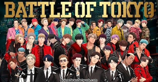 Jr.EXILE Performers Collaborate on LDH Japan's Battle of Tokyo 'Mixed Reality' Project With Anime, Game