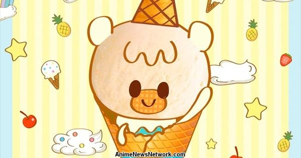 Shinei Animation и Blue Seal Ice Cream сотрудничают для iii Icecrin TV Anime