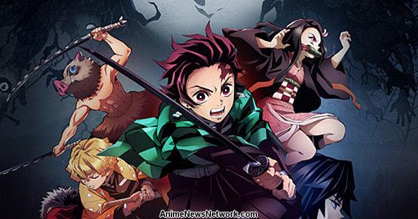 Netflix добавляет в США аниме-сериал «Убийца демонов: Кимэцу но Яиба»