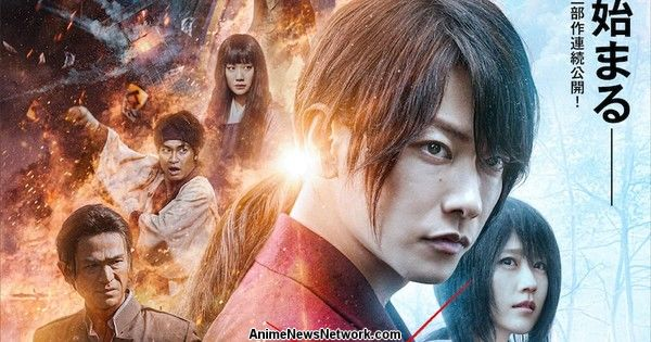 1st 'Final Chapter' Live-Action Rurouni Kenshin Film Earns Over 745 Million Yen at Box Office