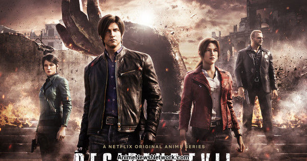 Netflix Streams Trailer, Opening Video Clip for Resident Evil: Infinite Darkness CG Series