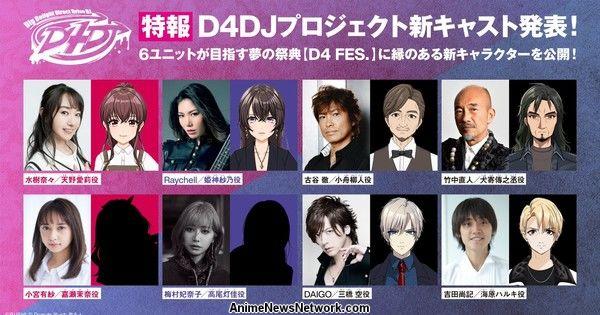 D4DJ First Mix Anime Reveals 8 More Cast Members