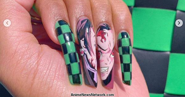 Megan Thee Stallion Posts Her Demon Slayer: Kimetsu no Yaiba Manicure
