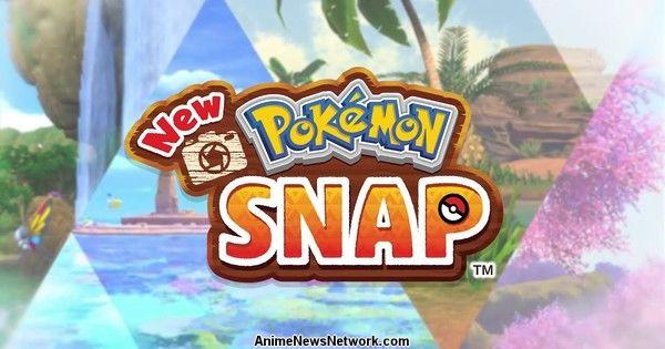 Новая игра Pokémon Snap Switch выйдет 30 апреля