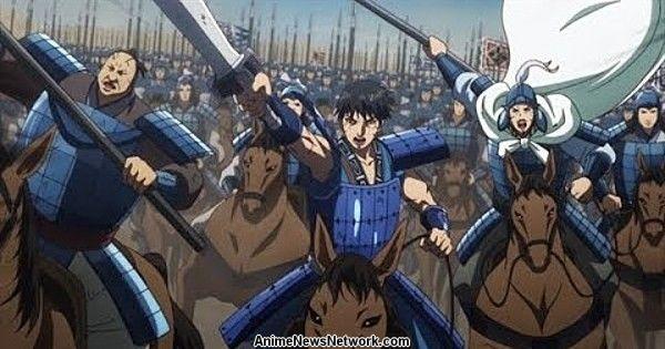 В промо-ролике анонсировали возвращение 3-го сезона Kingdom Anime