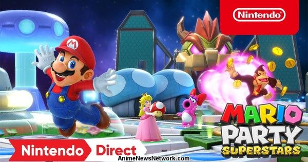 Nintendo Announces Mario Party Superstars Game for Switch