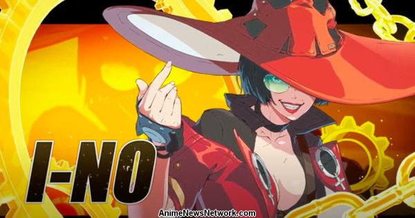 I-NO присоединяется к Guilty Gear -Strive- Game в качестве финального персонажа начального состава