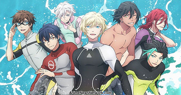 WAVE!! Surfing Anime Film Trilogy Gets TV Series Edition Premiering on  January 11 - News - Anime News Network