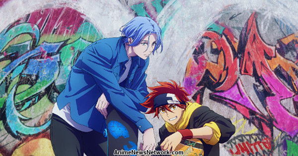 Тема окончания телеобъявлений Sk8 the Infinity Anime