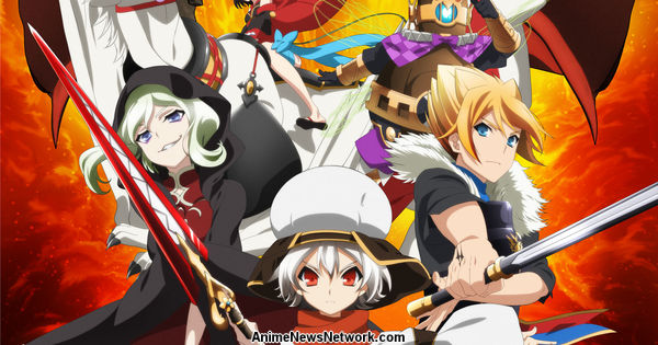Funimation Reveals Chaos Dragon Anime's English Dub Cast (Updated)