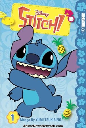Tokyopop Reveals Details of Stitch!, Nightmare Before Christmas ...