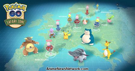Pokémon GO revela más detalles de los eventos del 1er aniversario