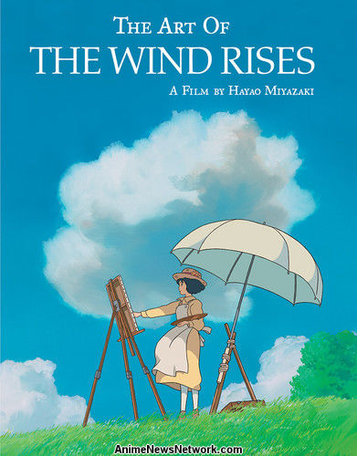 Viz Media's Studio Ghibli Imprint Releases The Art of the Wind Rises