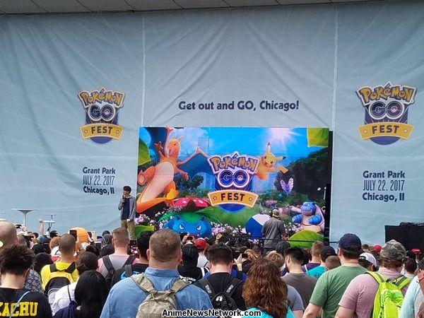Disfrutando de Pokémon GO Fest A pesar de sus problemas