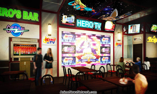 The Restaurant Will Be A New Style Of Characro With Two Floors Featuring Separate Anime Themes Each Floor Offer Themed Food And