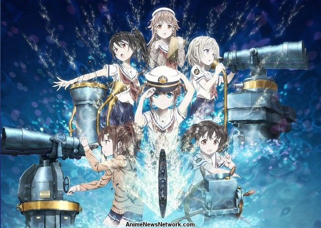 High School Fleet Anime Filme lança Naomi Ōzora
