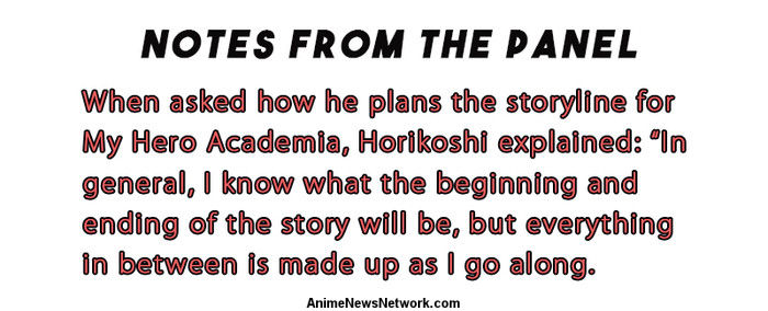 Interview: My Hero Academia Creator Kohei Horikoshi - Anime News Network