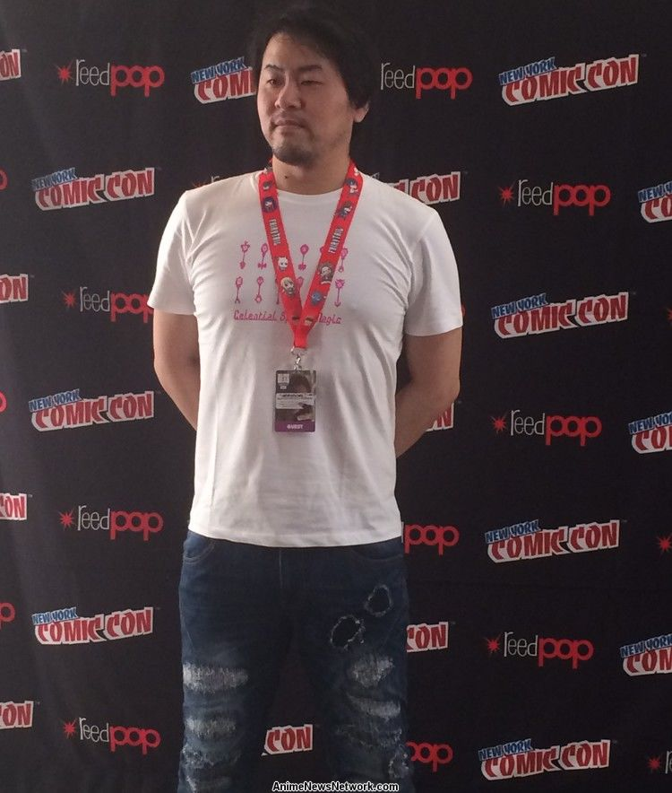 Fairy Tail Has A Passionate And Dedicated Fan Base Particularly In The United States Knowing This New York Comic Con Invited Mashima For His Very Own