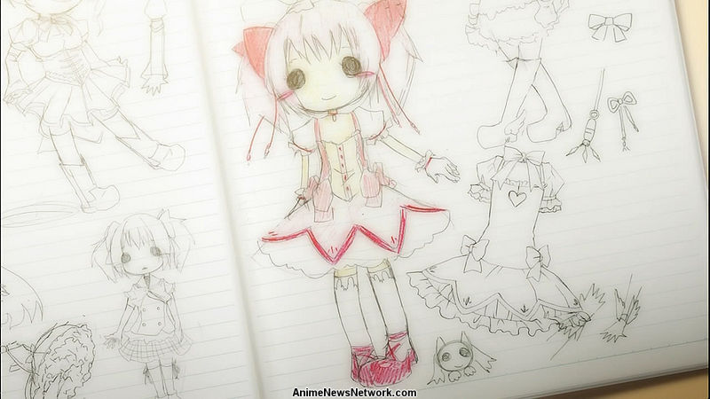 Voice Actress Aoi Yūki Draws Madoka's 'Ultimate' Form