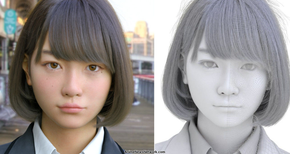 Hair Style Software: CG Girl Saya's Realism Will Have You Doing A Double Take