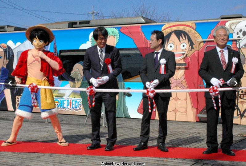 One Piece Kampagne sammelt Geld um die Präfektur Kumamoto wiederaufzubauen.   Ceremony.png
