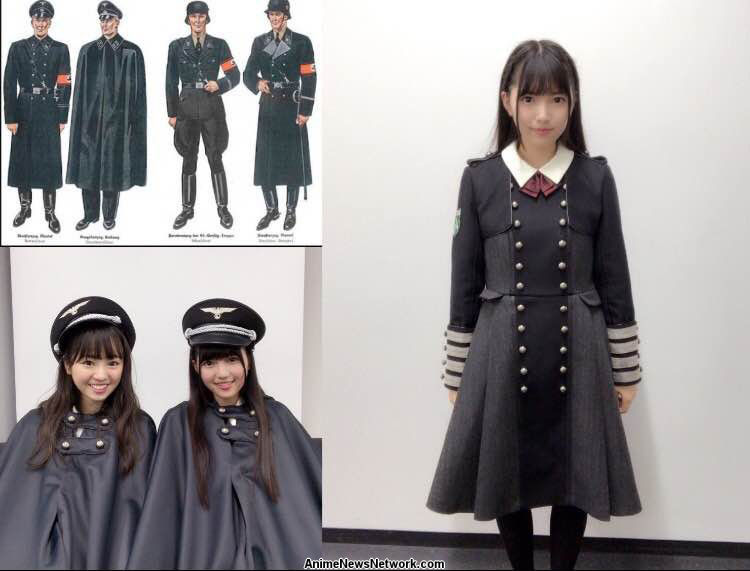 Japanese all-girls band under fire for Nazi-like outfits
