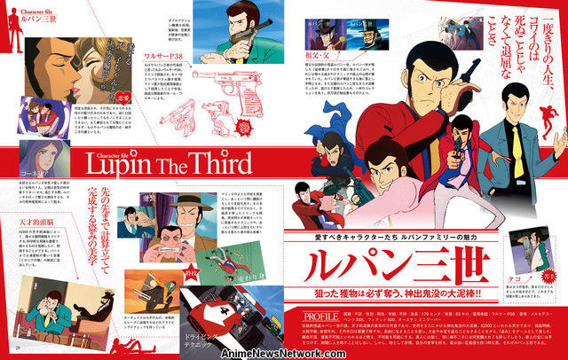 Lupin III aniversario
