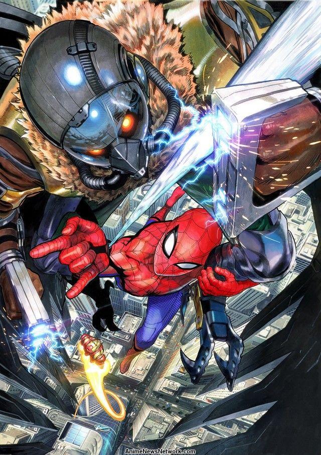 visual yusuke murata spider man