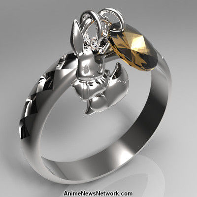 Swarovski Crystal Wedding Rings