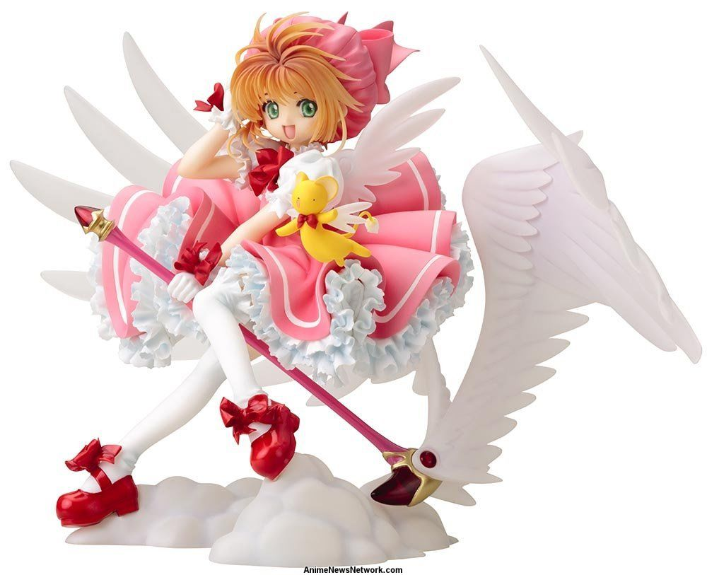 new cardcaptor sakura figures are ready to do damage on your