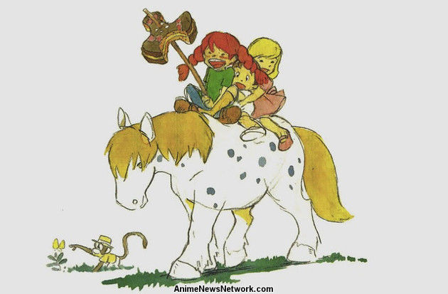 Checking Out Pippi Longstocking From >> Hayao Miyazaki S Pippi Longstocking Finally Lives In Book Release