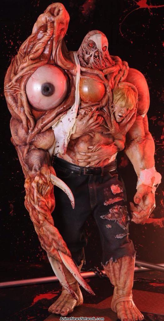 japanese cosplayer skillfully recreates resident evil 2 u0026 39 s final boss - interest