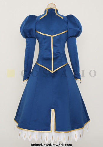 high quality fate stay night saber dress and armor costs us 4 000
