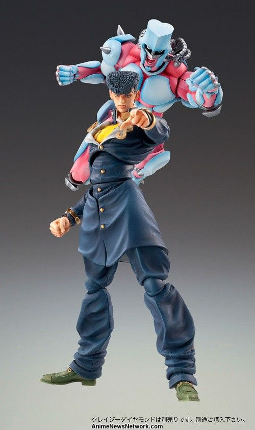 Jojo S Bizarre Adventure S Josuke Crazy Diamond Figures To Be Re Released Interest Anime News Network You are watching jojos bizarre adventure: crazy diamond figures to be re released