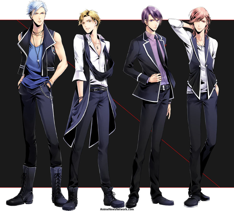 TsukiPro Talent Agency Gets TV Anime About 4 of Its ...
