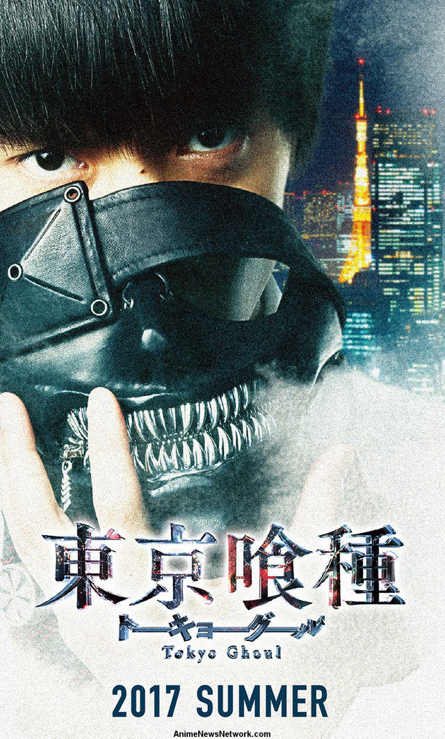 visual film live action Tokyo Ghoul