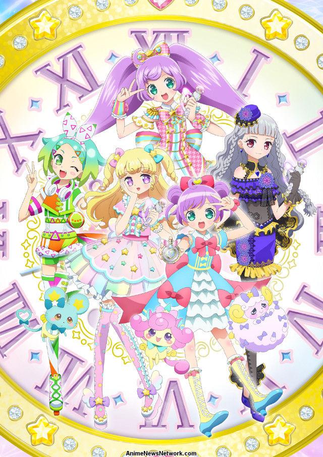 Novo PriPara Idol TV Anime Revela elenco, pessoal, história, título, Visual