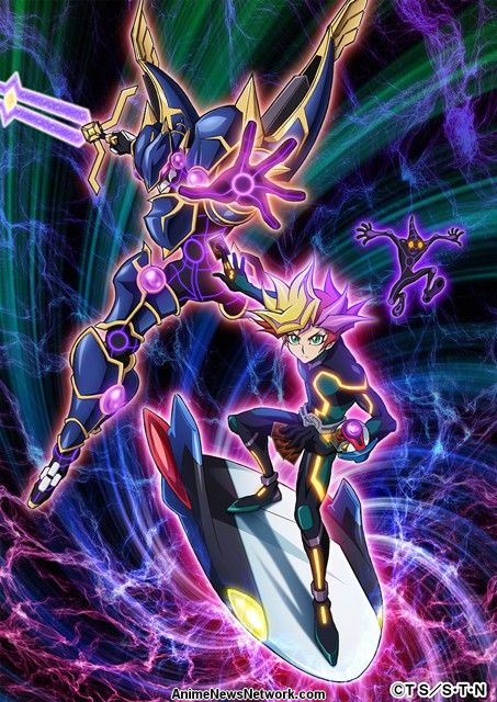 Yugioh Character Design : Yu gi oh vrains tv anime s visual designs revealed