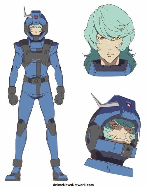 Gundam Twilight AXIS Anime's Promo Video Reveals Cast, June 23