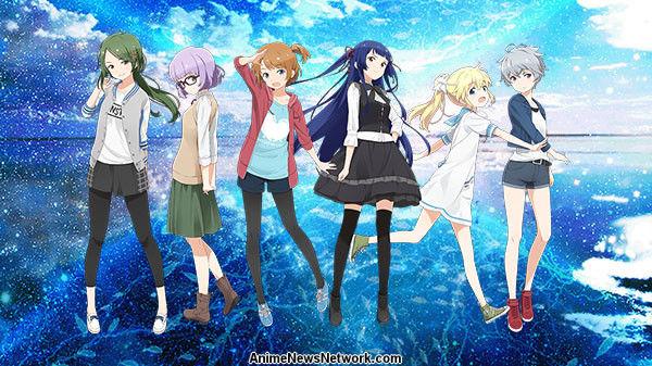 ForwardWorks 'Sora a Umi no Aida Smartphone Juego Obtiene Anime en 20