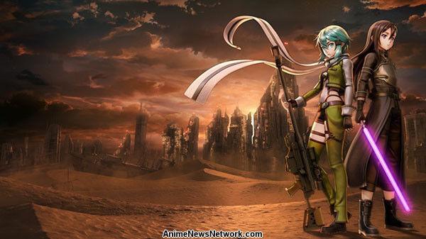 Bandai Namco anuncia el arte de la espada en línea: Fatal Bullet Game