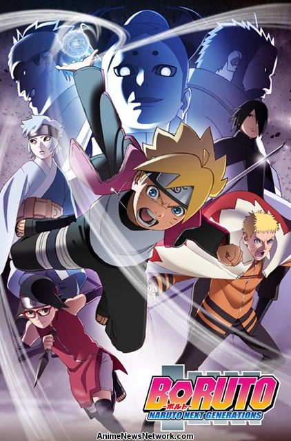 BORUTO Anime Gets A New Visual Poster For The Upcoming Chūnin Exam Arc