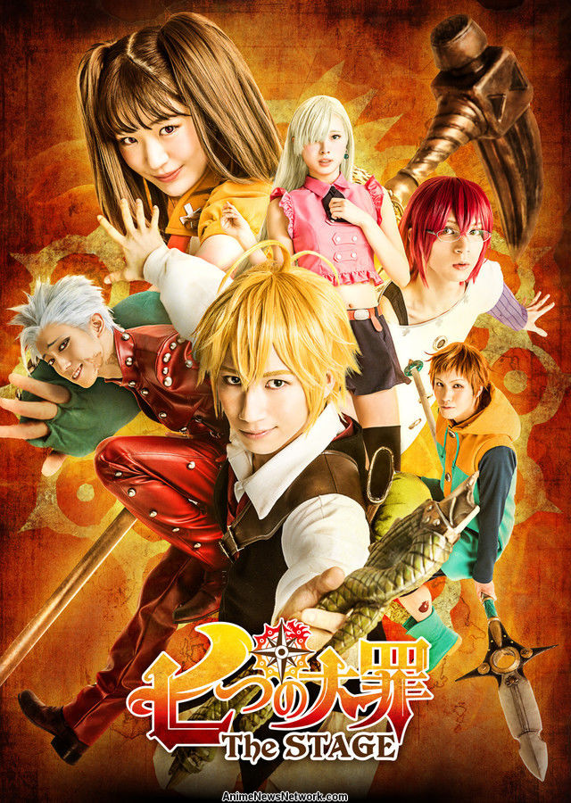 Seven Deadly Sins Stage Play S Cast Visual Unveiled News Anime News Network