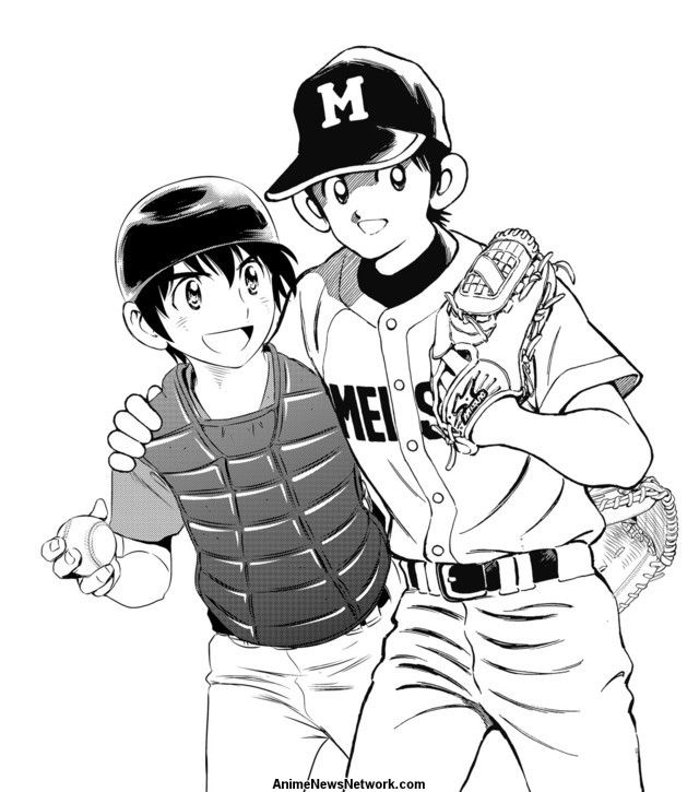 Baseball Manga Major 2nd & Mix Celebrate 'Battery Day