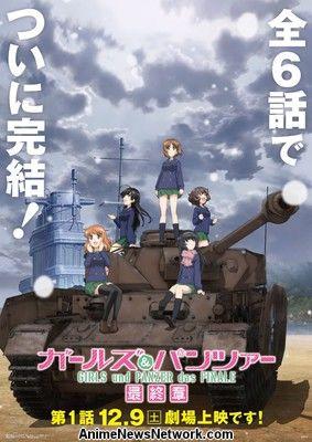 Bandai Visual Adquiere Niñas y Panzer Anime Studio Actas