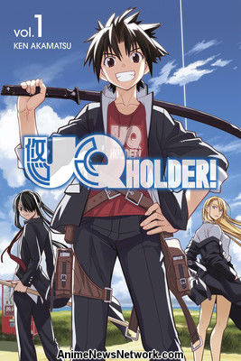 UQ Holder Manga Creator Ken Akamatsu Teases TV Anime ...