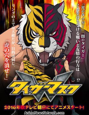 "[Noticia] Anime ""Tiger Mask W"" Tigermask"