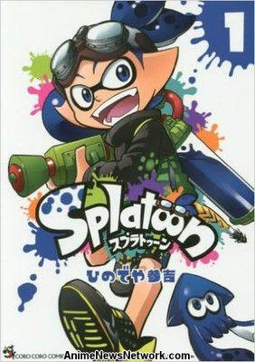 Manga de Splatoon obtiene el movimiento cómico protagonizando Mikako